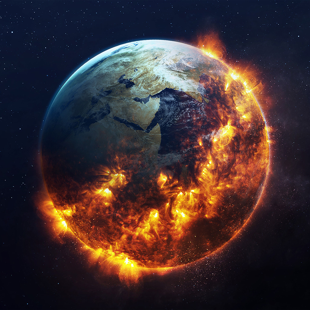 android-wallpaper-bc60-earth-space-fire-art-illustration-star-wallpaper