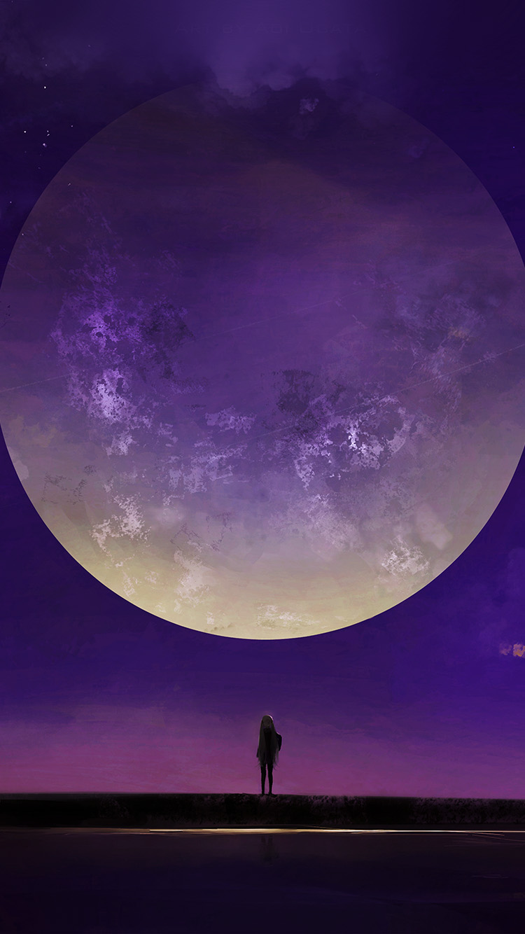 iPhone7papers.com-Apple-iPhone7-iphone7plus-wallpaper-bc63-moon-anime-night-art-illustration-purple