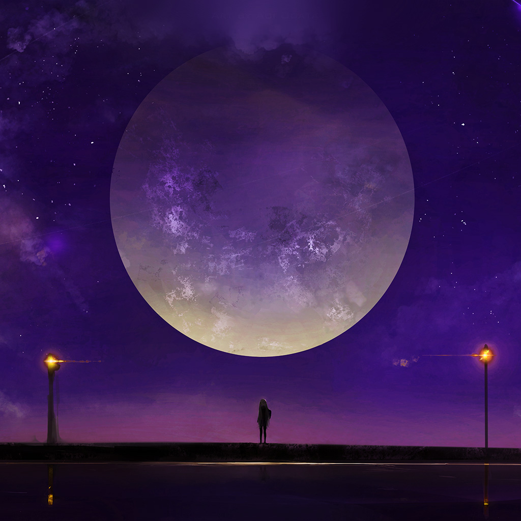 wallpaper-bc63-moon-anime-night-art-illustration-purple-wallpaper