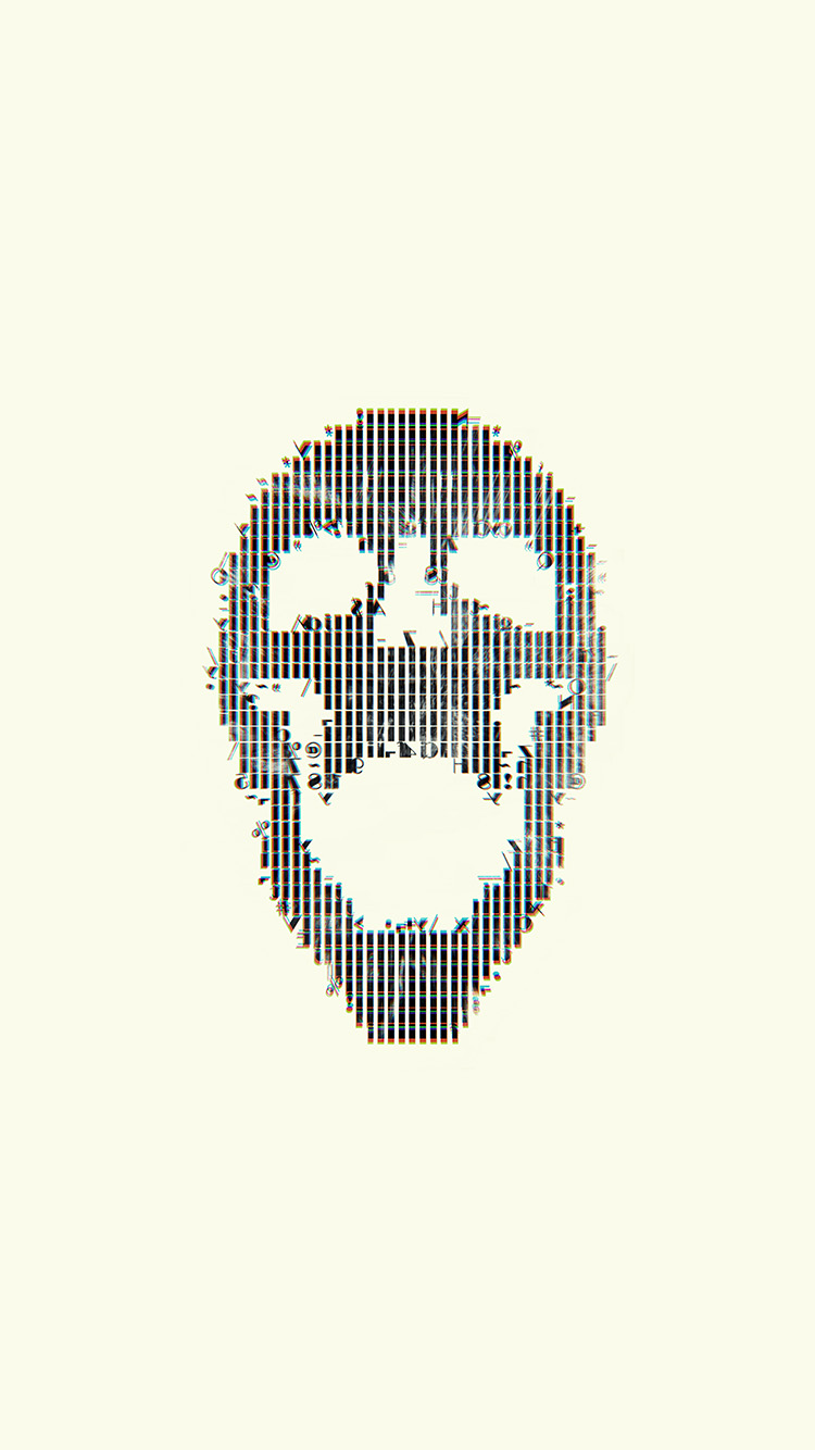 iPhone6papers.co-Apple-iPhone-6-iphone6-plus-wallpaper-bc73-digital-skull-white-art-illustration-simple-minimal