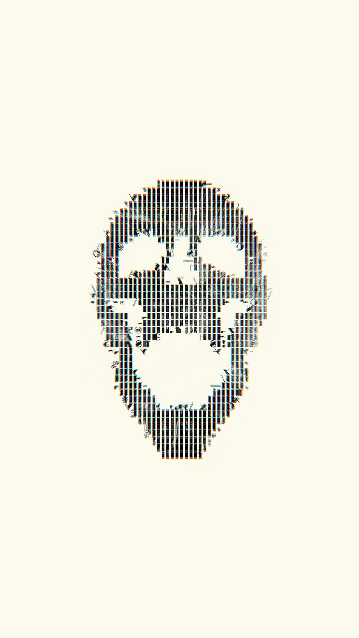Iphone7papers Com Iphone7 Wallpaper Bc73 Digital Skull