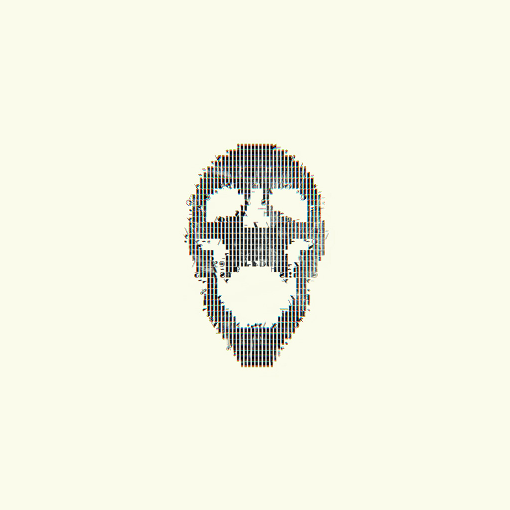wallpaper-bc73-digital-skull-white-art-illustration-simple-minimal-wallpaper