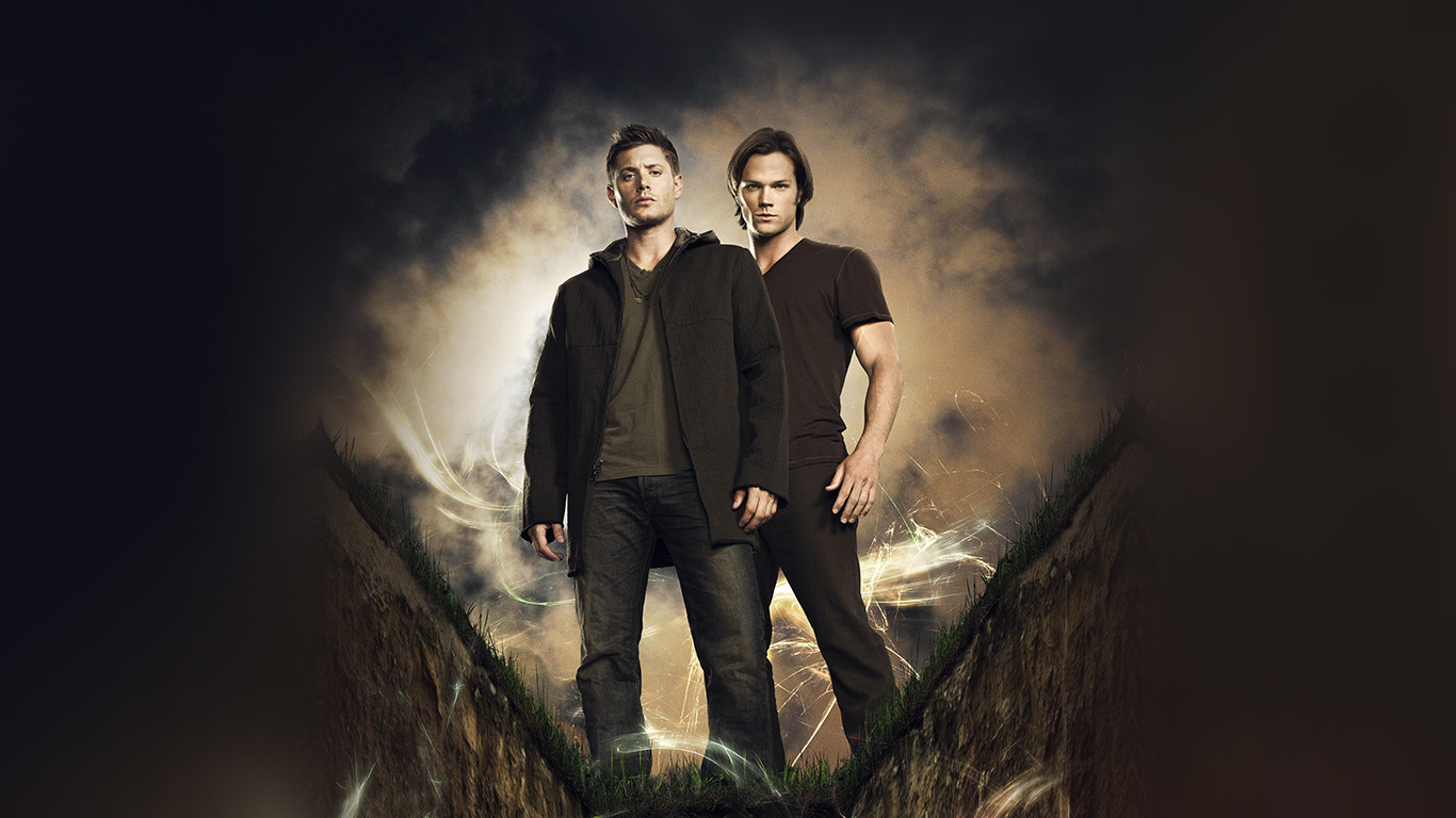 wallpaper for desktop, laptop | bc80-supernatural -film-tvshow-art-illustration