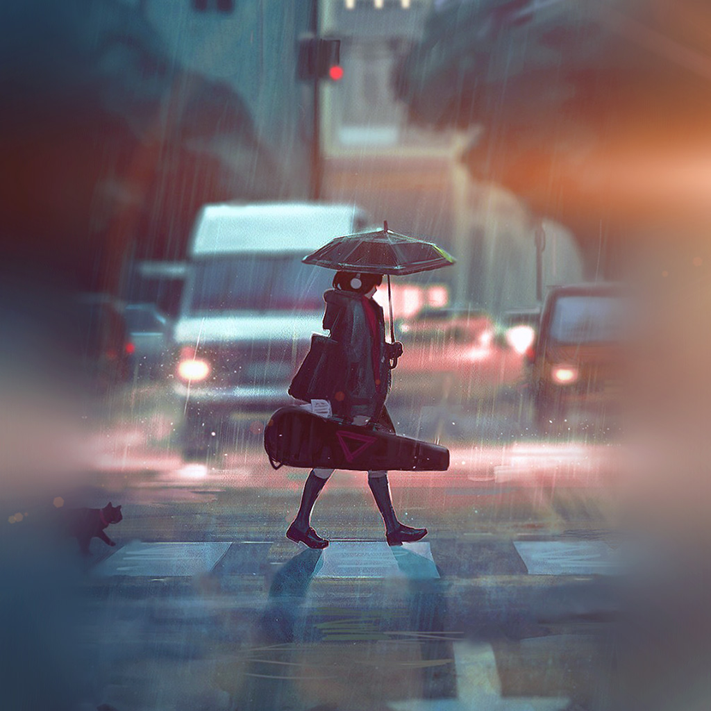 wallpaper-bc90-rainy-day-anime-paint-girl-art-illustration-flare-wallpaper