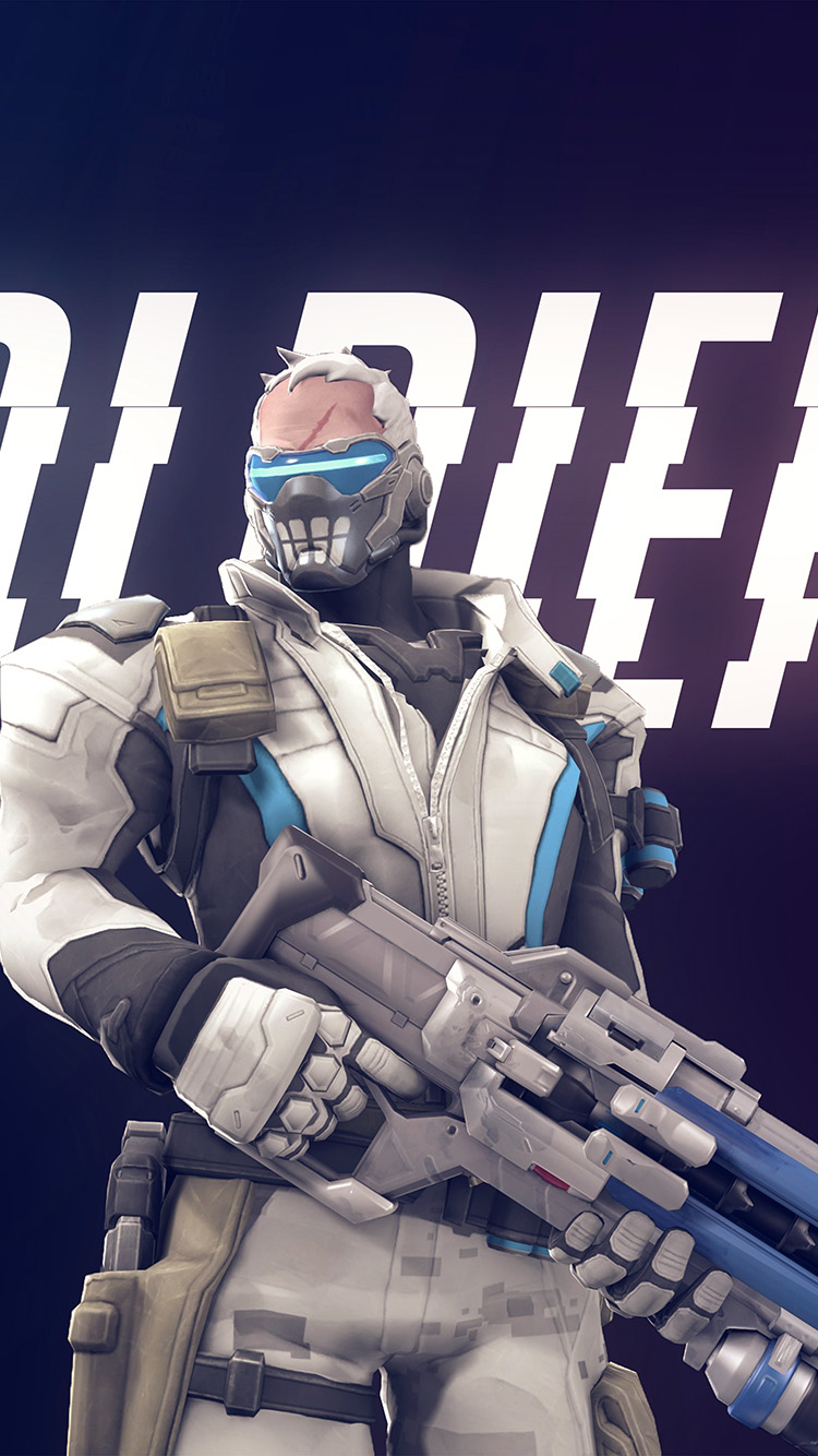 Papers.co-iPhone5-iphone6-plus-wallpaper-bc98-overwatch-soldier-game-art-illustration