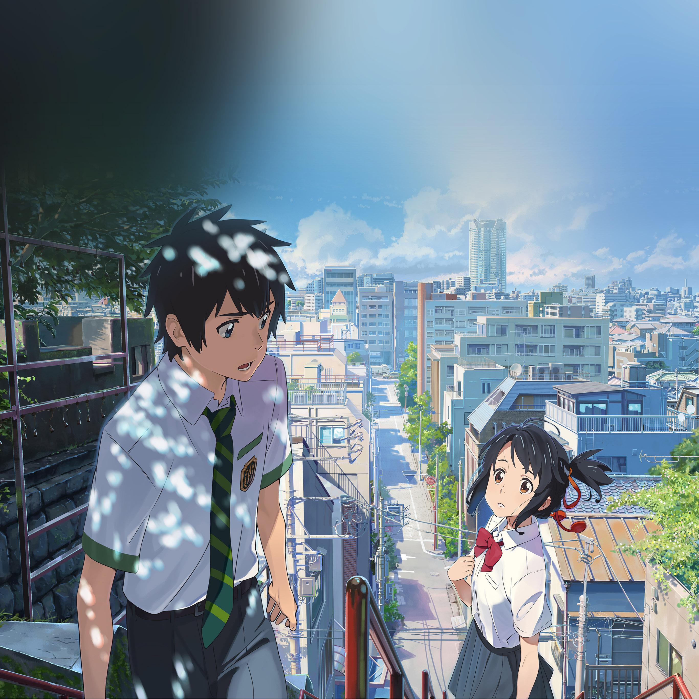 Bd04 Yourname Anime Summer Art Illustration Wallpaper