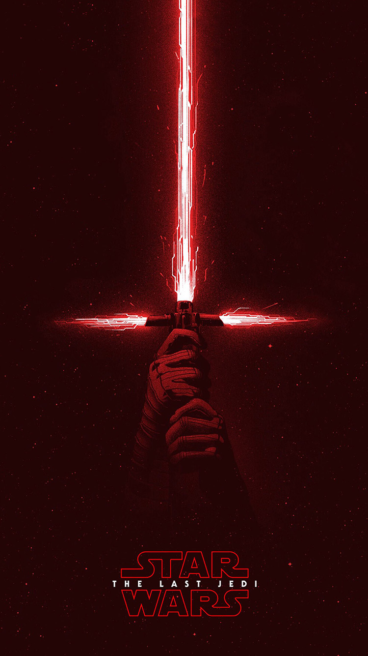Papers.co-iPhone5-iphone6-plus-wallpaper-bd05-starwars-first-jedi-red-film-art-illustration