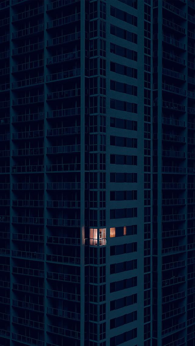 freeios8.com-iphone-4-5-6-plus-ipad-ios8-bd10-city-dark-apartment-pattern-art-illustration-blue