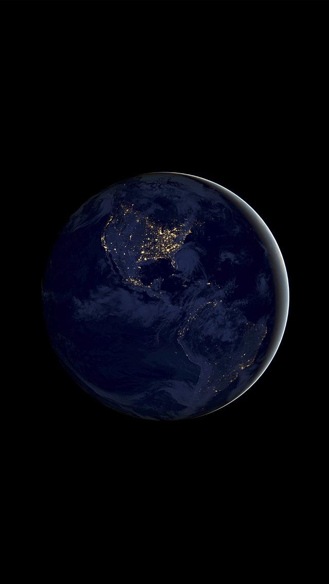 freeios8.com-iphone-4-5-6-plus-ipad-ios8-bd20-earth-space-dark-night-art-illustration