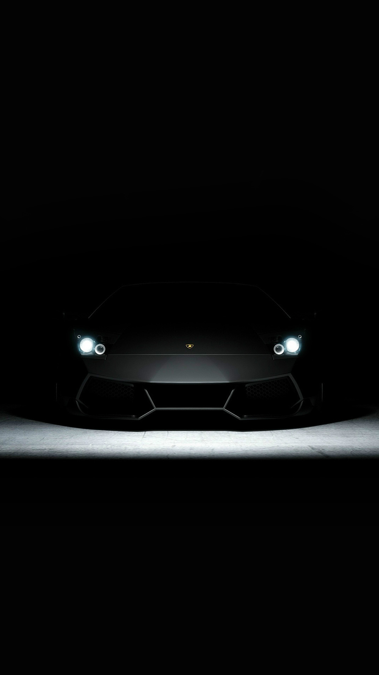 Iphone7papers Com Iphone7 Wallpaper Bd23 Car Dark Lamborghini
