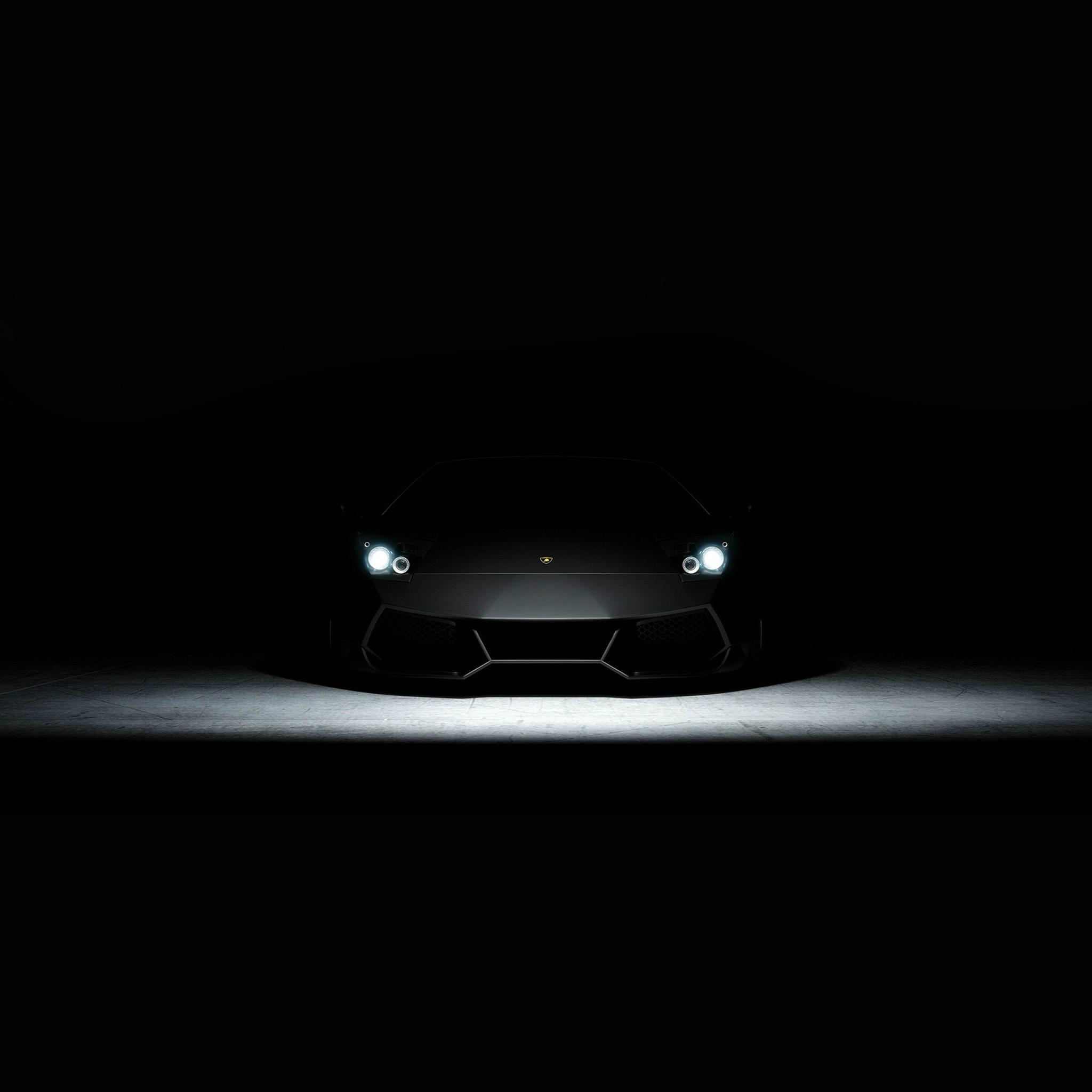 Bd23 Car Dark Lamborghini Art Illustration Wallpaper