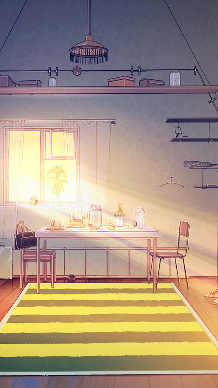 Papers.co-iPhone5-iphone6-plus-wallpaper-bd26-home-anime-arseniy-art-illustration-sunny