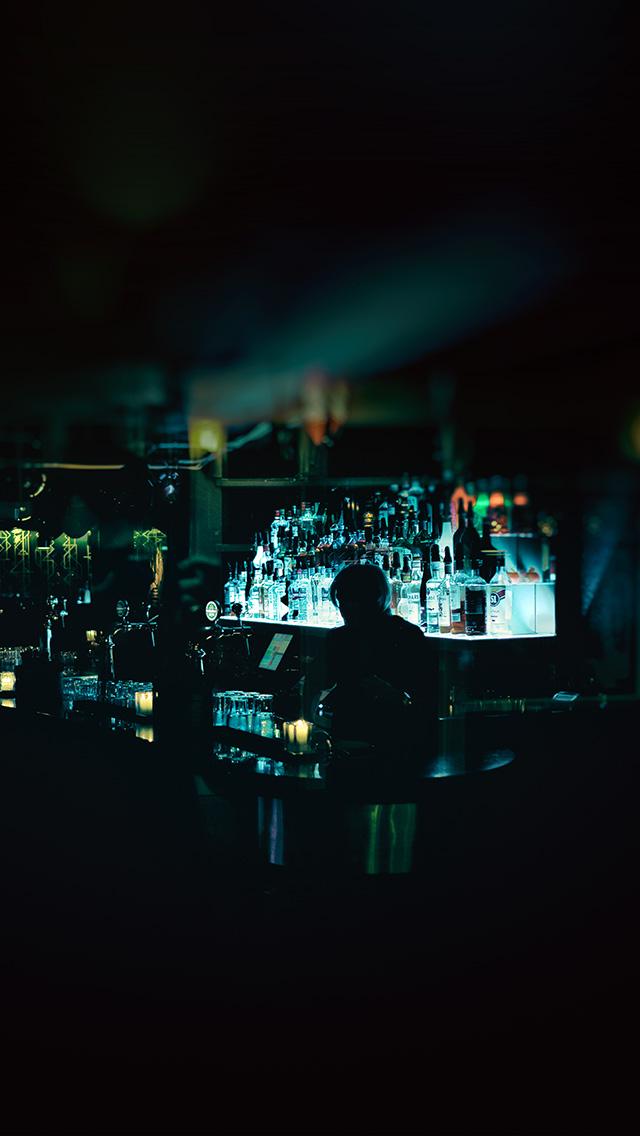 freeios8.com-iphone-4-5-6-plus-ipad-ios8-bd59-night-cafe-bar-dark-city-art-illustration