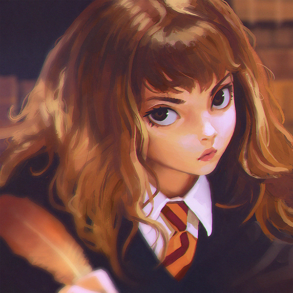 iPapers.co-Apple-iPhone-iPad-Macbook-iMac-wallpaper-bd65-hermione-harry-potter-liya-art-illustration-wallpaper