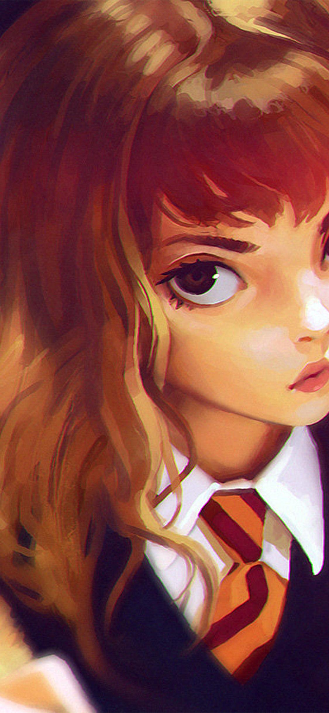 Papersco Iphone Wallpaper Bd66 Hermione Harry Potter