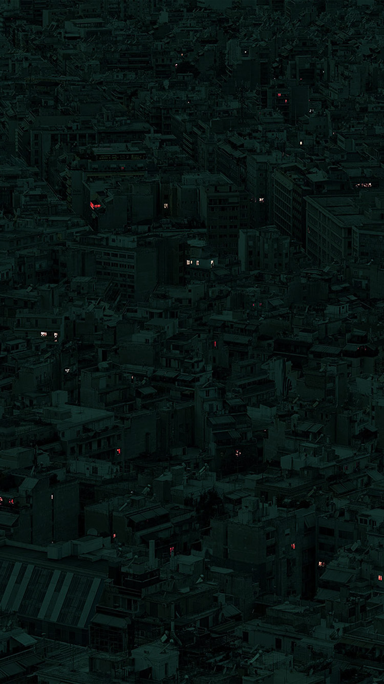 iPhone7papers.com-Apple-iPhone7-iphone7plus-wallpaper-bd78-night-city-dark-art-illustration-green