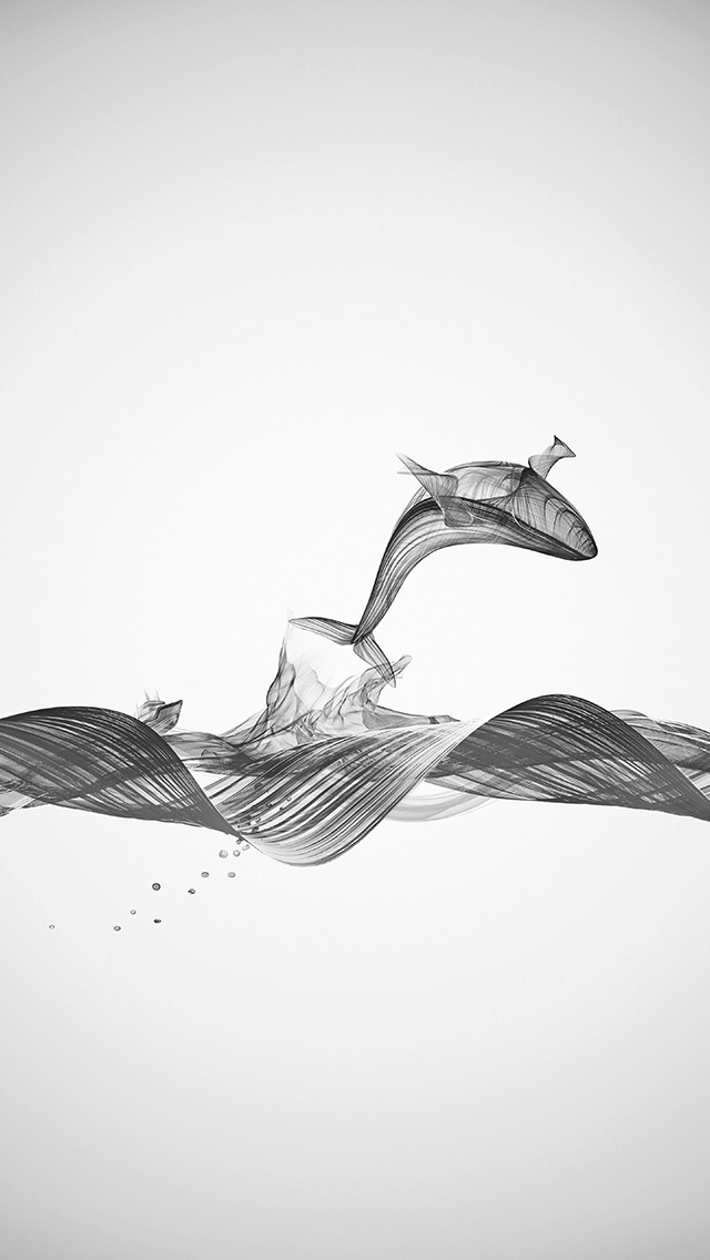 freeios8.com-iphone-4-5-6-plus-ipad-ios8-bd86-fishing-boat-whale-wave-line-art-illustration-animal-bw