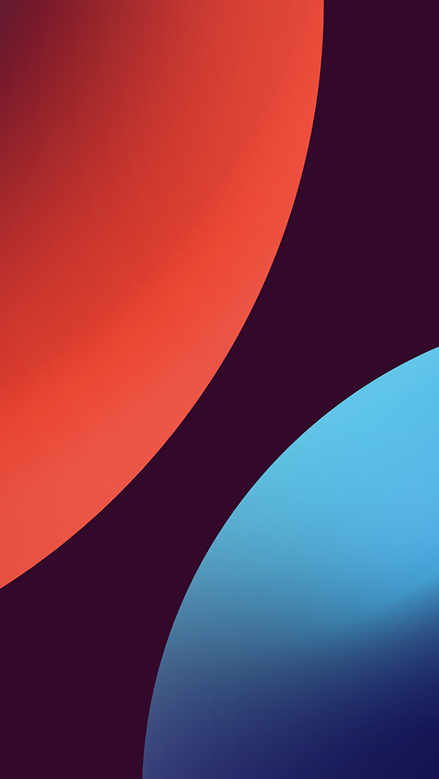 Freeios7 Com Iphone Wallpaper Bd88 Minimal Circle Orange