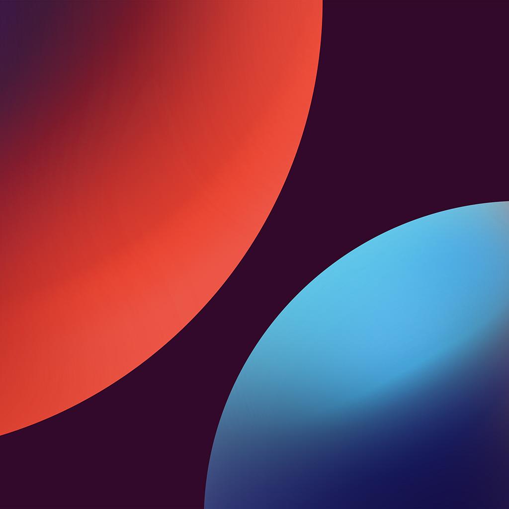 android-wallpaper-bd88-minimal-circle-orange-blue-art-illustration-wallpaper