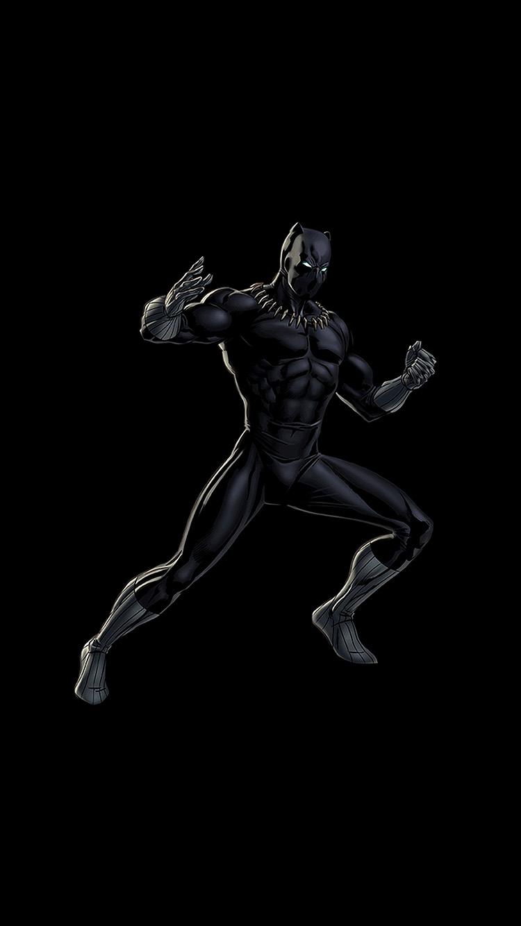 Papers.co-iPhone5-iphone6-plus-wallpaper-bd91-hero-marvel-blackpanther-dark-art-illustration