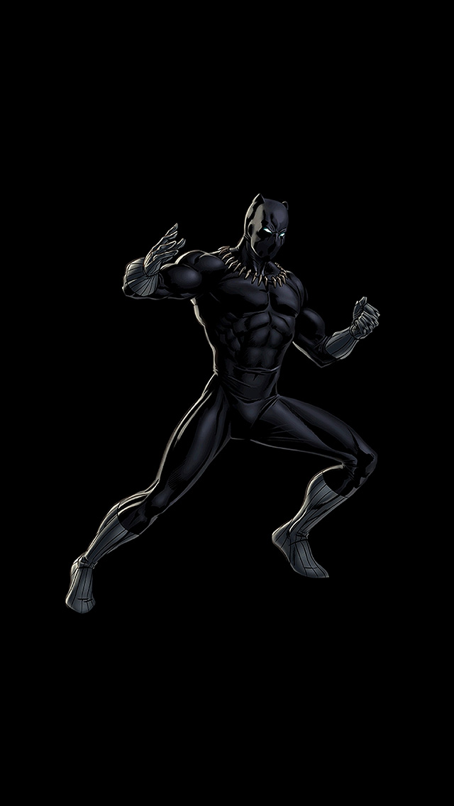 freeios8.com-iphone-4-5-6-plus-ipad-ios8-bd91-hero-marvel-blackpanther-dark-art-illustration