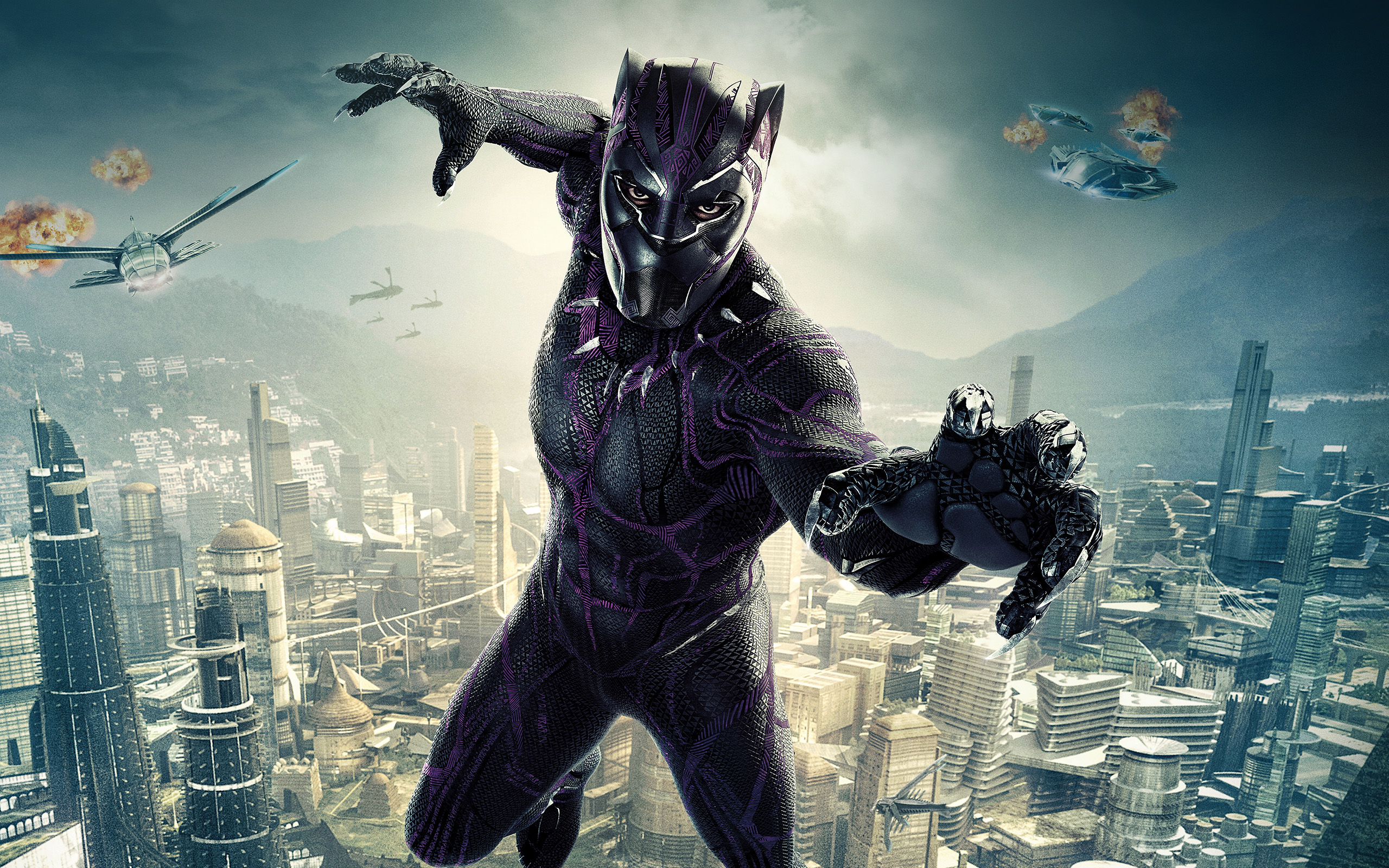 Black Evo X >> be00-marvel-film-hero-blackpanther-art-illustration-wallpaper