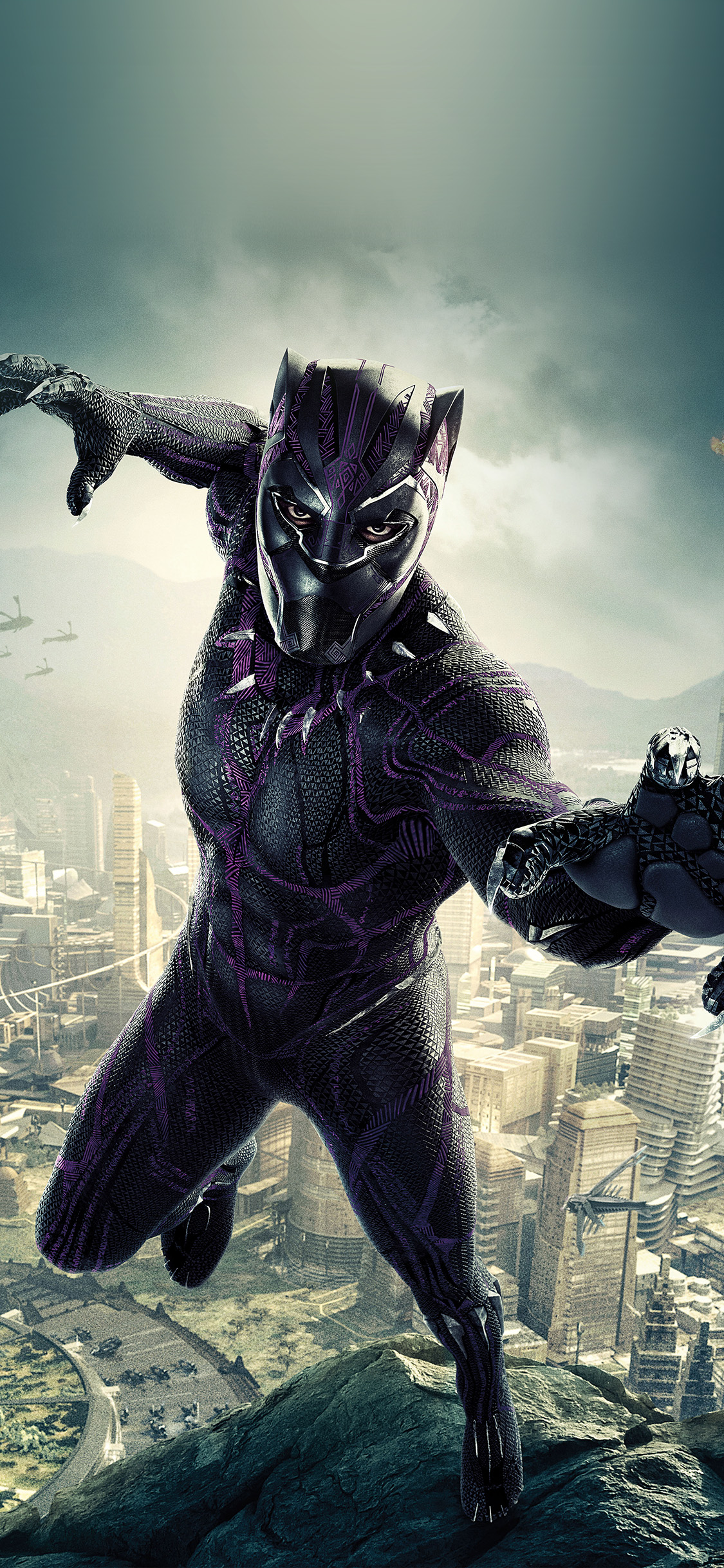 iPhonexpapers.com-Apple-iPhone-wallpaper-be00-marvel-film-hero-blackpanther-art-illustration