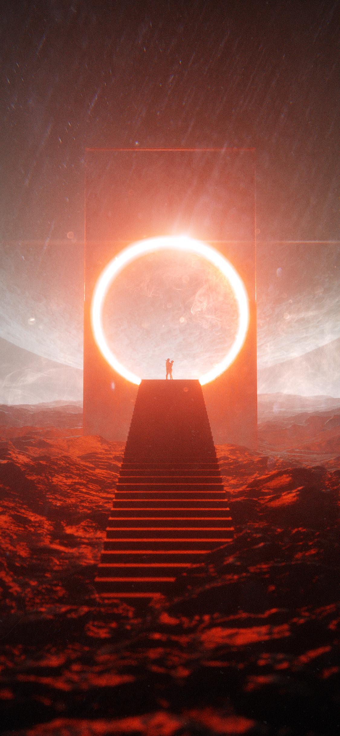 Be02 Stuart Space Digital Fantasy Art Illustration Wallpaper
