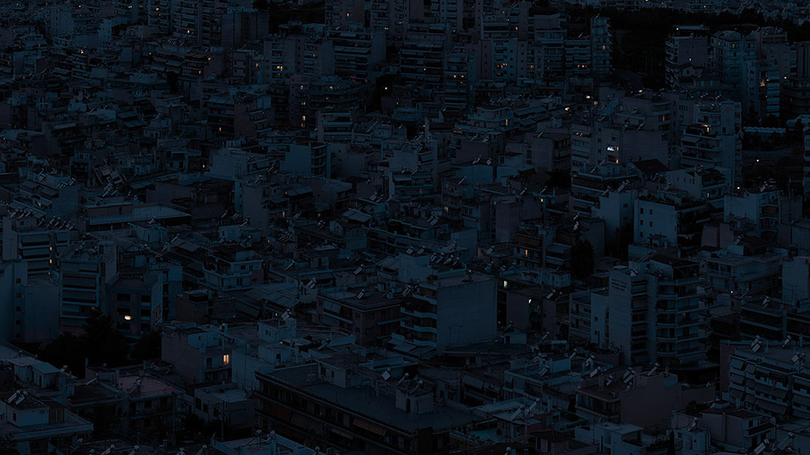 Be37 Dark City Night Art Illustration Wallpaper