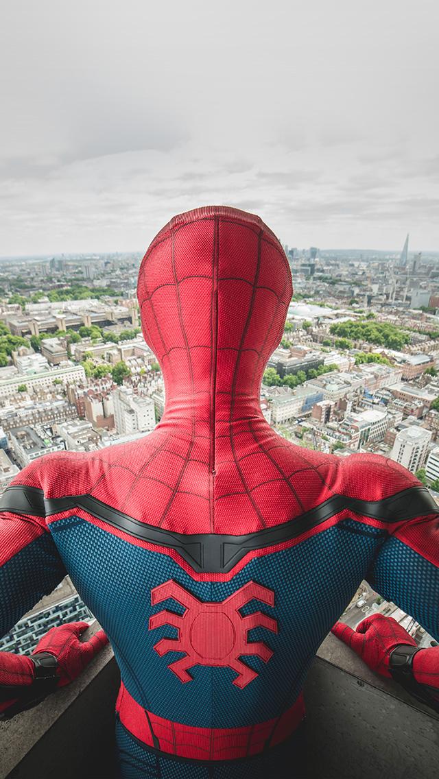 freeios8.com-iphone-4-5-6-plus-ipad-ios8-be42-spiderman-hero-marvel-art-illustration