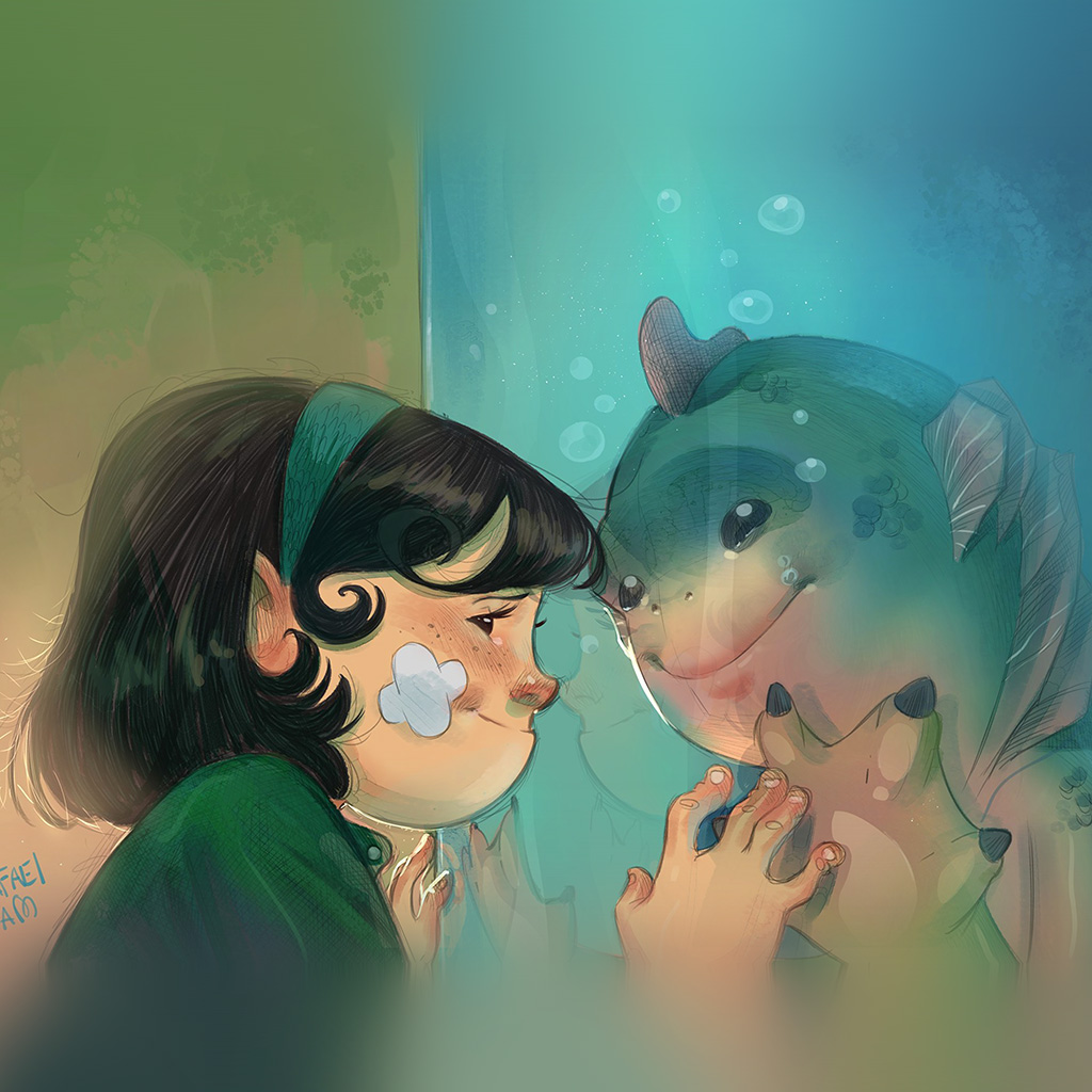 wallpaper-be44-rafael-sam-shape-of-water-anime-art-illustration-wallpaper