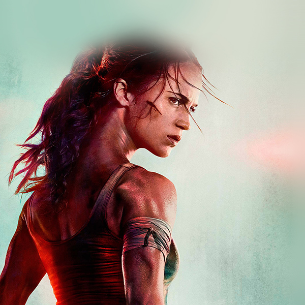 Tomb Raider Desktop Wallpaper: Be46-lara-croft-tomb-raider-film-art-illustration-wallpaper