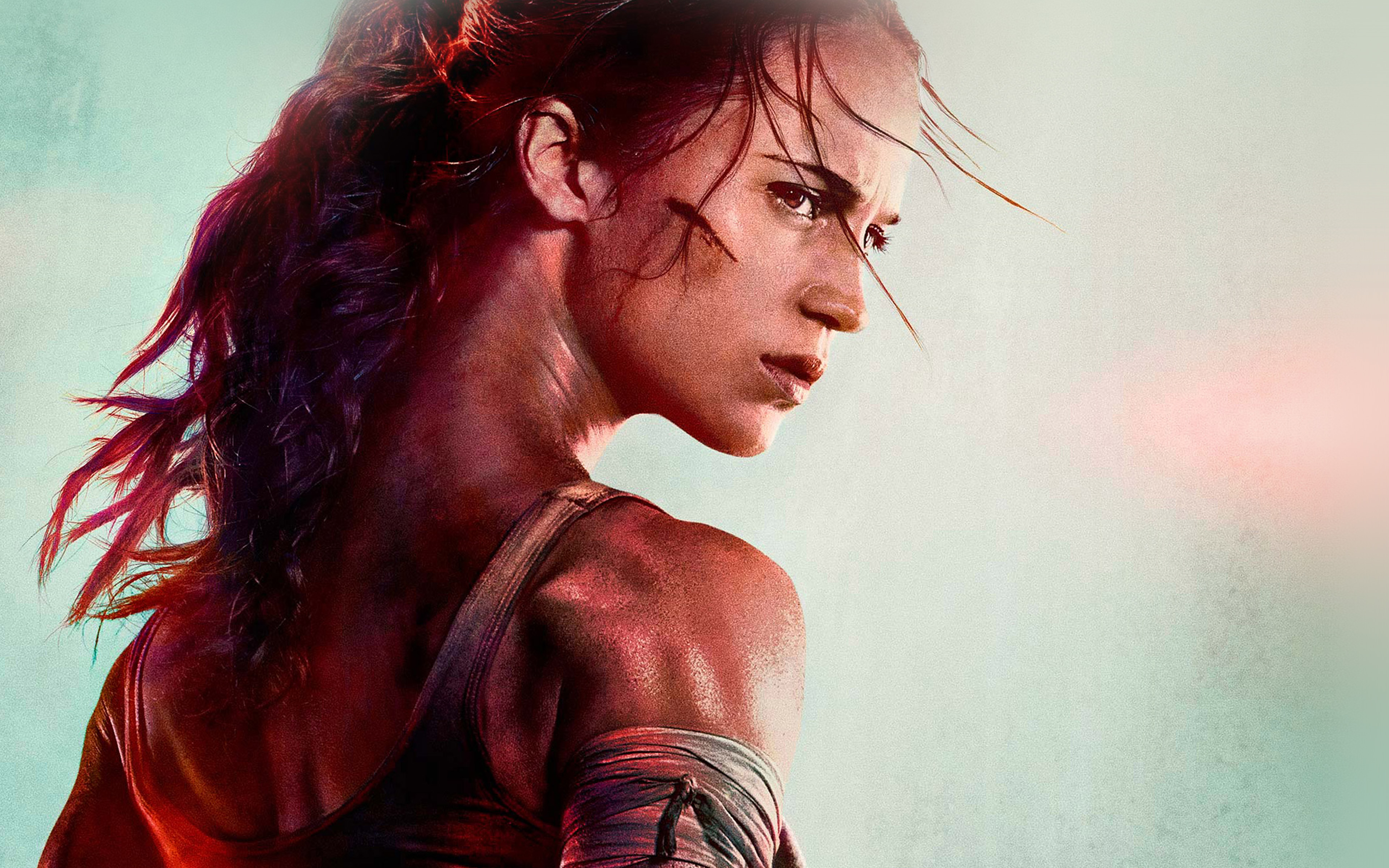 Be46 Lara Croft Tomb Raider Film Art Illustration Wallpaper