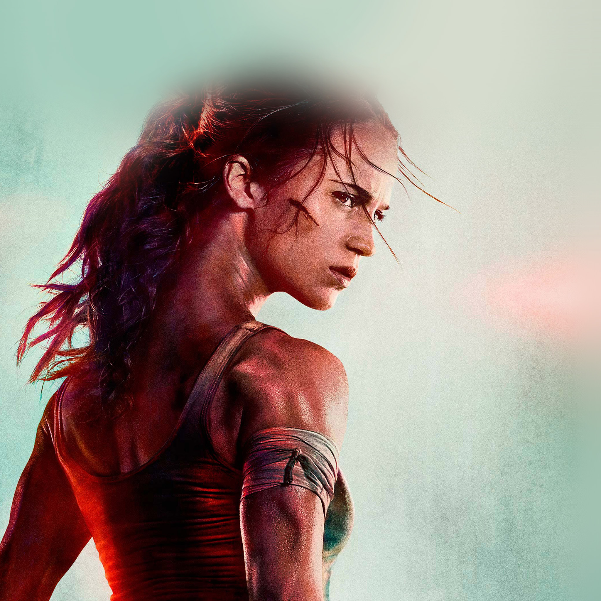 Tomb Raider Iphone Wallpaper: Be46-lara-croft-tomb-raider-film-art-illustration-wallpaper
