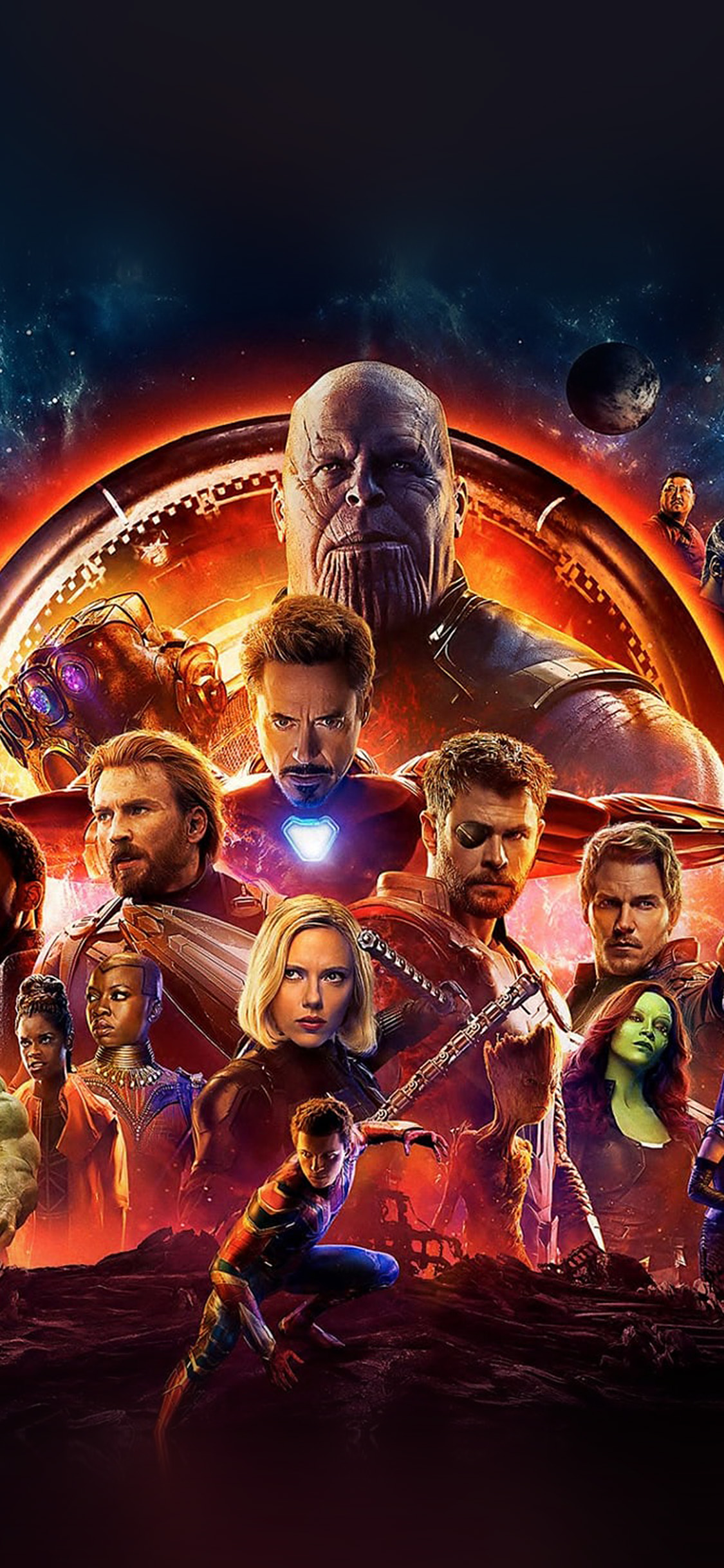 Iphonepapers Com Iphone Wallpaper Be47 Infinity War Marvel