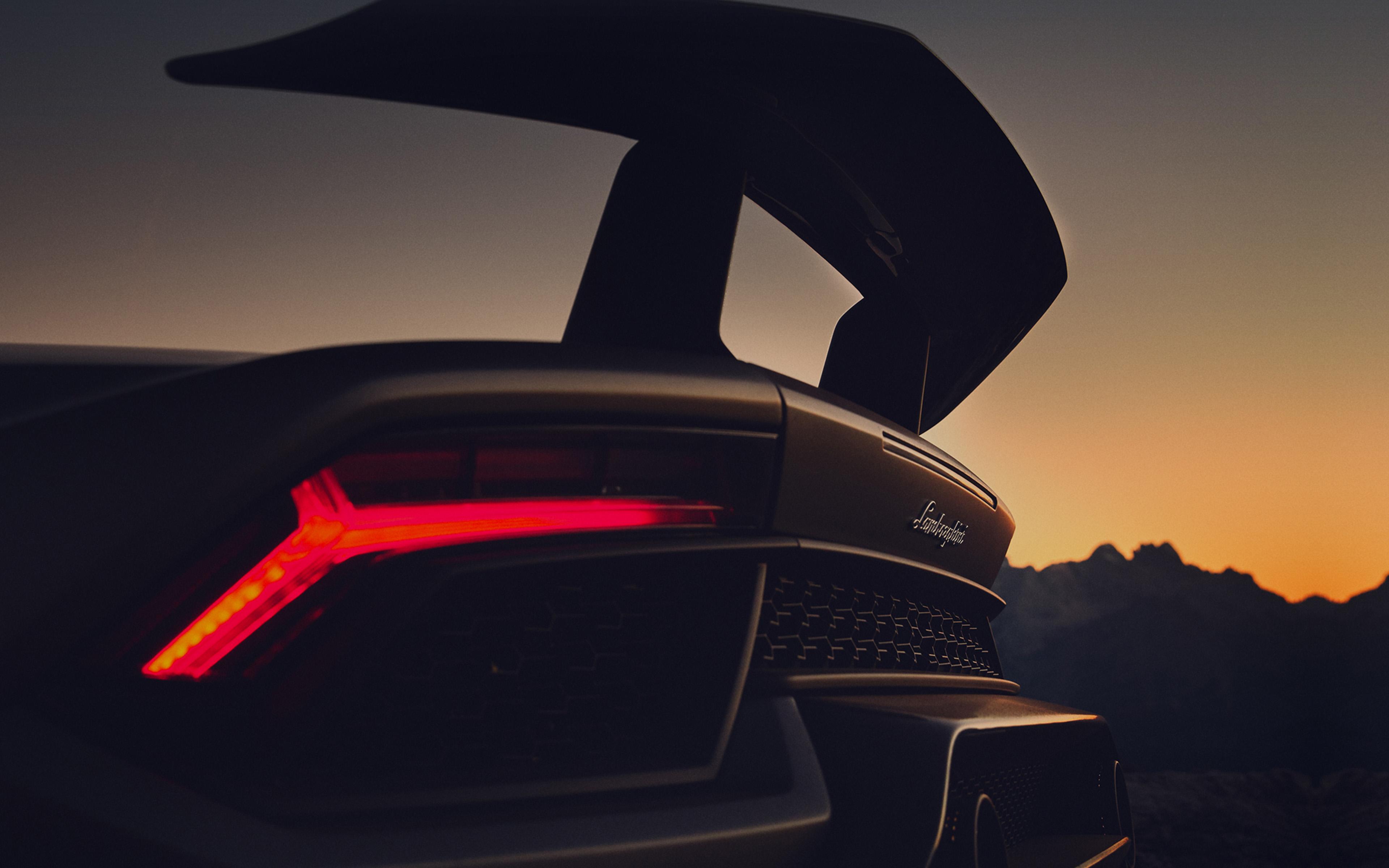 Be51 Lamborghini Car Dark Art Illustration Wallpaper