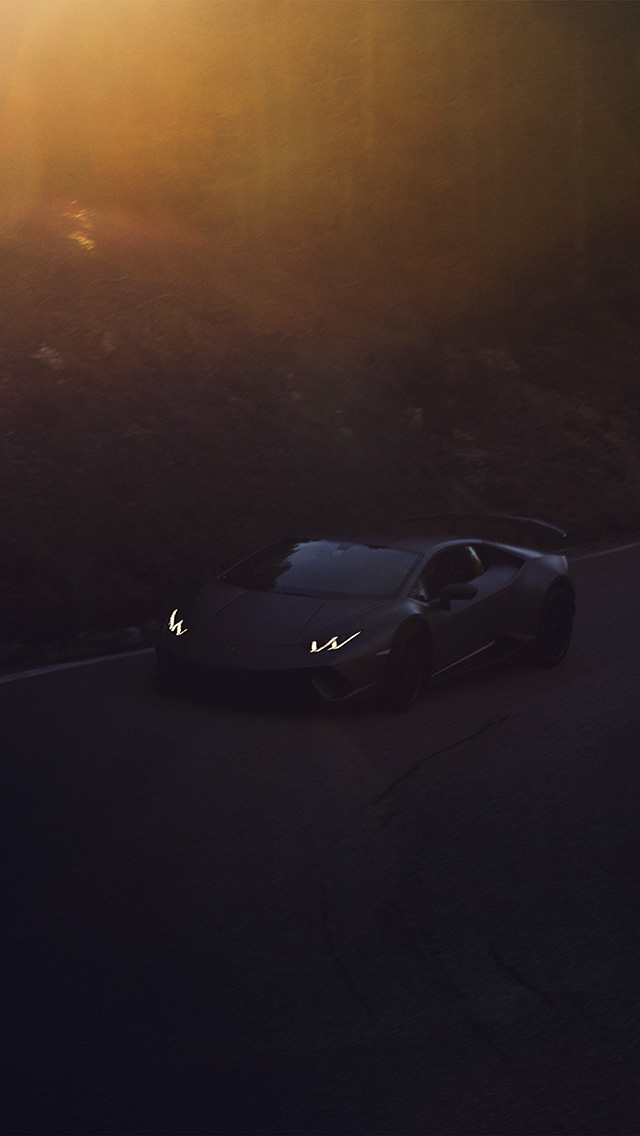 freeios8.com-iphone-4-5-6-plus-ipad-ios8-be54-lamborghini-drive-car-sports-art-illustration