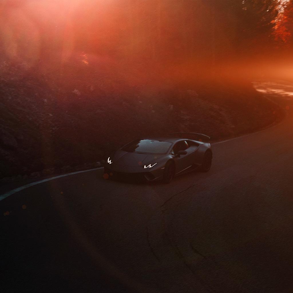android-wallpaper-be55-lamborghini-drive-car-sports-art-illustration-red-wallpaper
