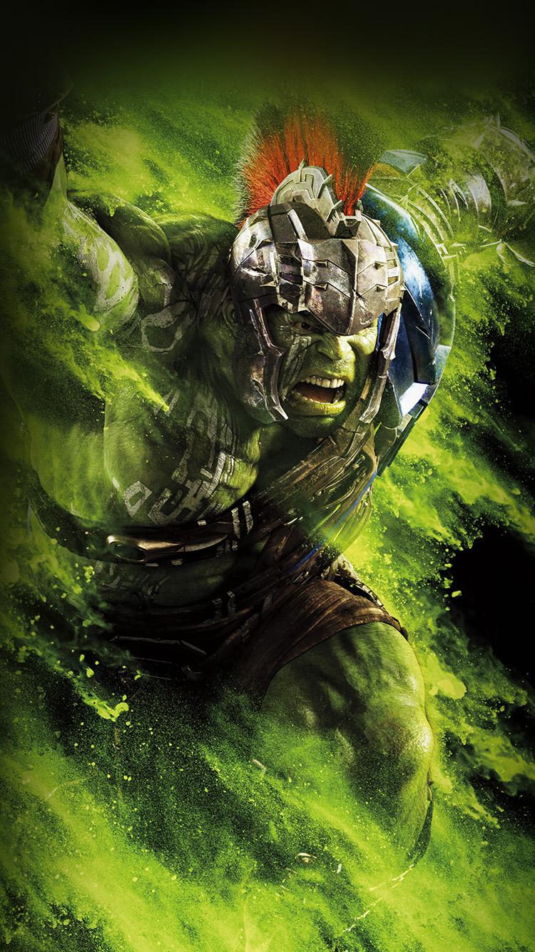 iPhonepapers.com-Apple-iPhone-wallpaper-be57-hulk-ragnarok-red-film-marvel-hero-art-illustration