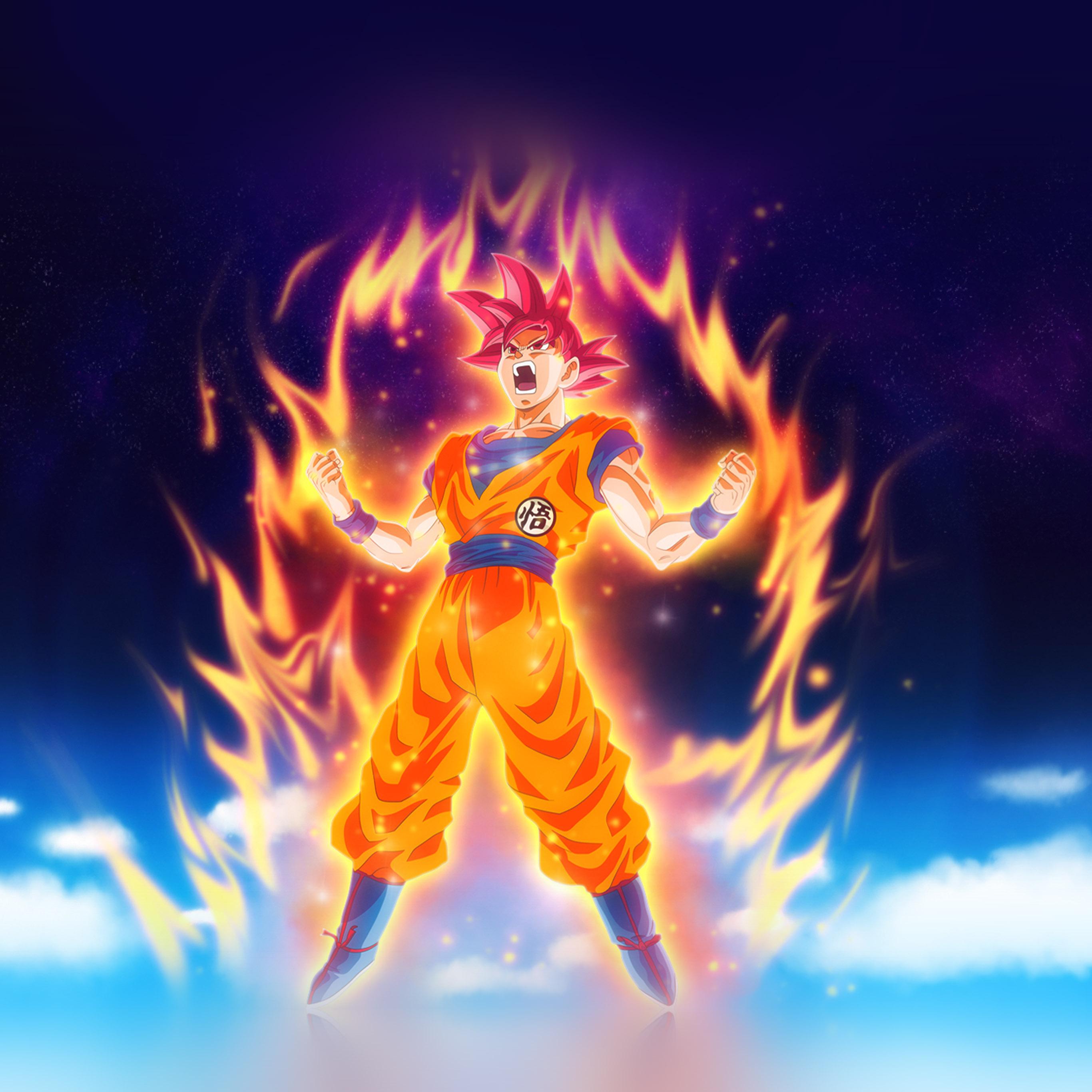 Be62 Dragon Ball Fire Art Illustration Hero Anime Wallpaper