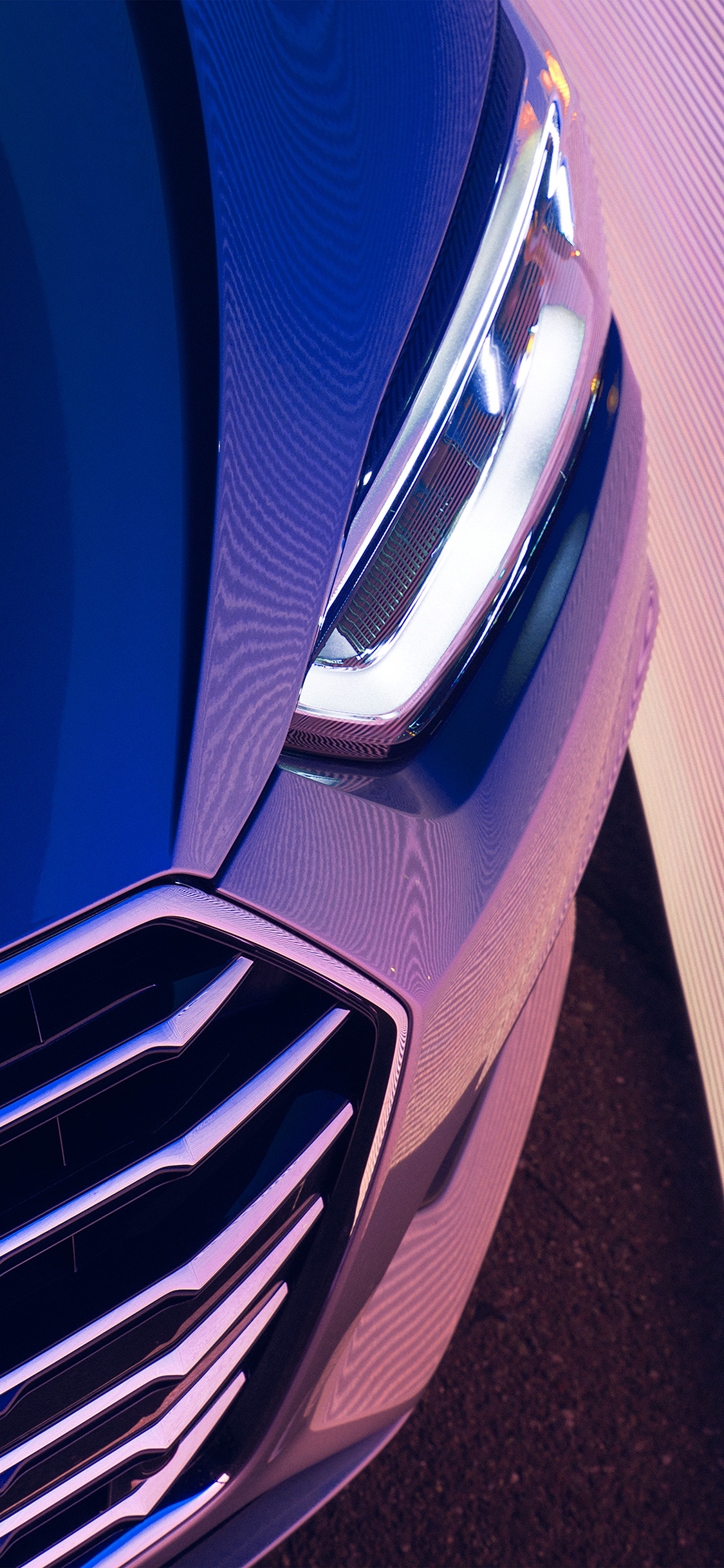 iPhonexpapers.com-Apple-iPhone-wallpaper-be71-car-headlight-audi-art-illustration-blue-pink