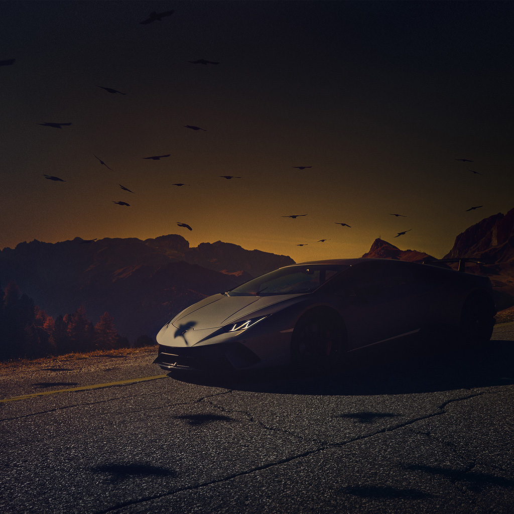 android-wallpaper-be73-car-lamborghini-dark-sunset-art-illustration-wallpaper
