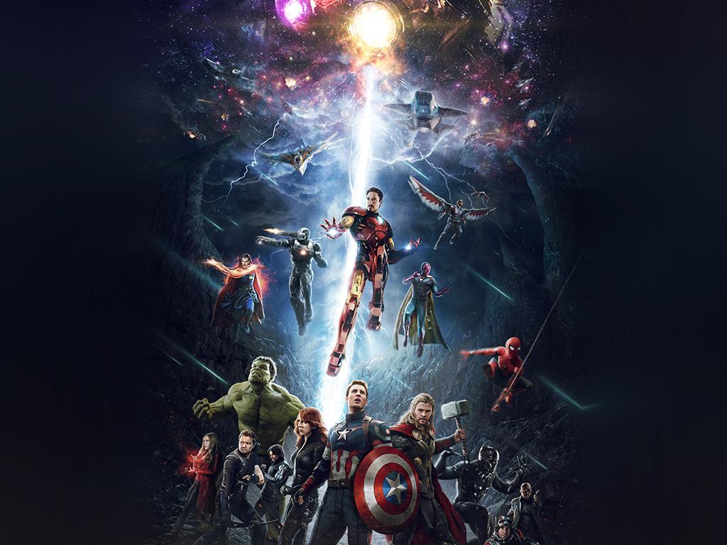 Wallpaper for desktop laptop be83 marvel infinitywar - Avengers superhero wallpaper ...
