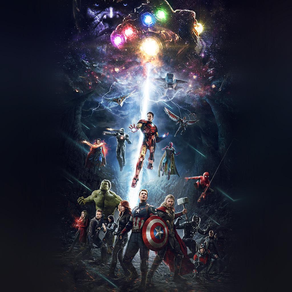 android-wallpaper-be83-marvel-infinitywar-avengers-hero-art-wallpaper