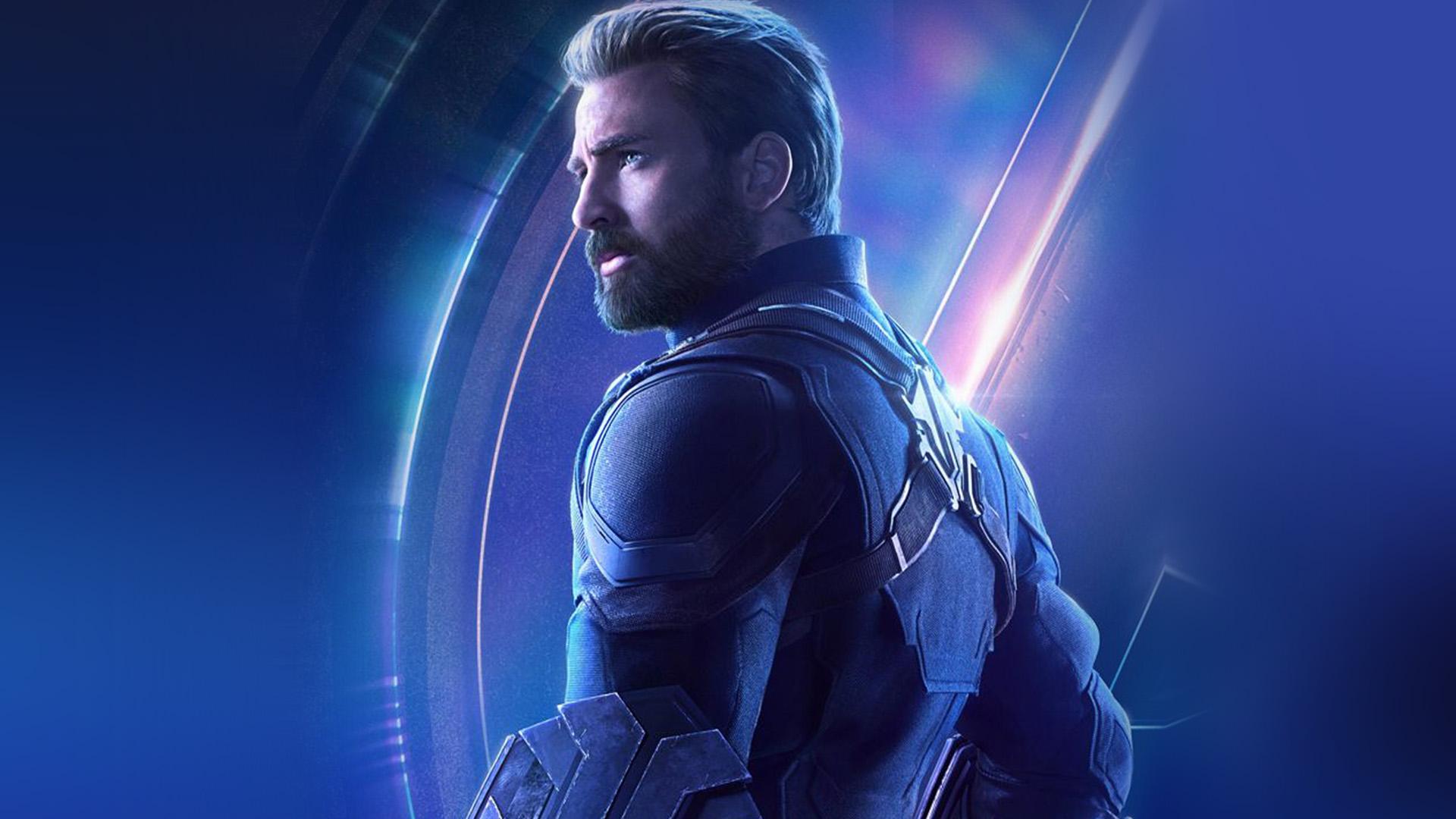 Be86 Captain America Avengers Hero Chris Evans Film Art Wallpaper