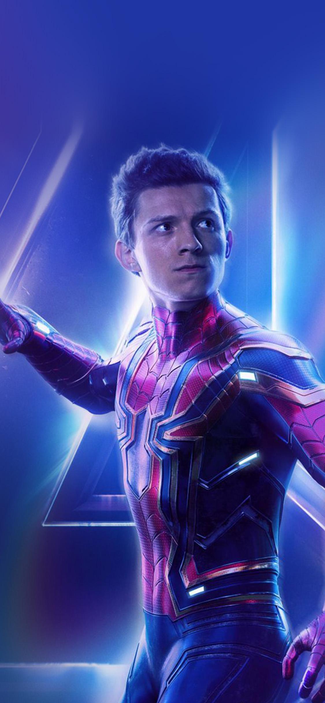 iPhonexpapers.com-Apple-iPhone-wallpaper-be92-spiderman-suit-avengers-infinitywar-marvel-hero-art-film