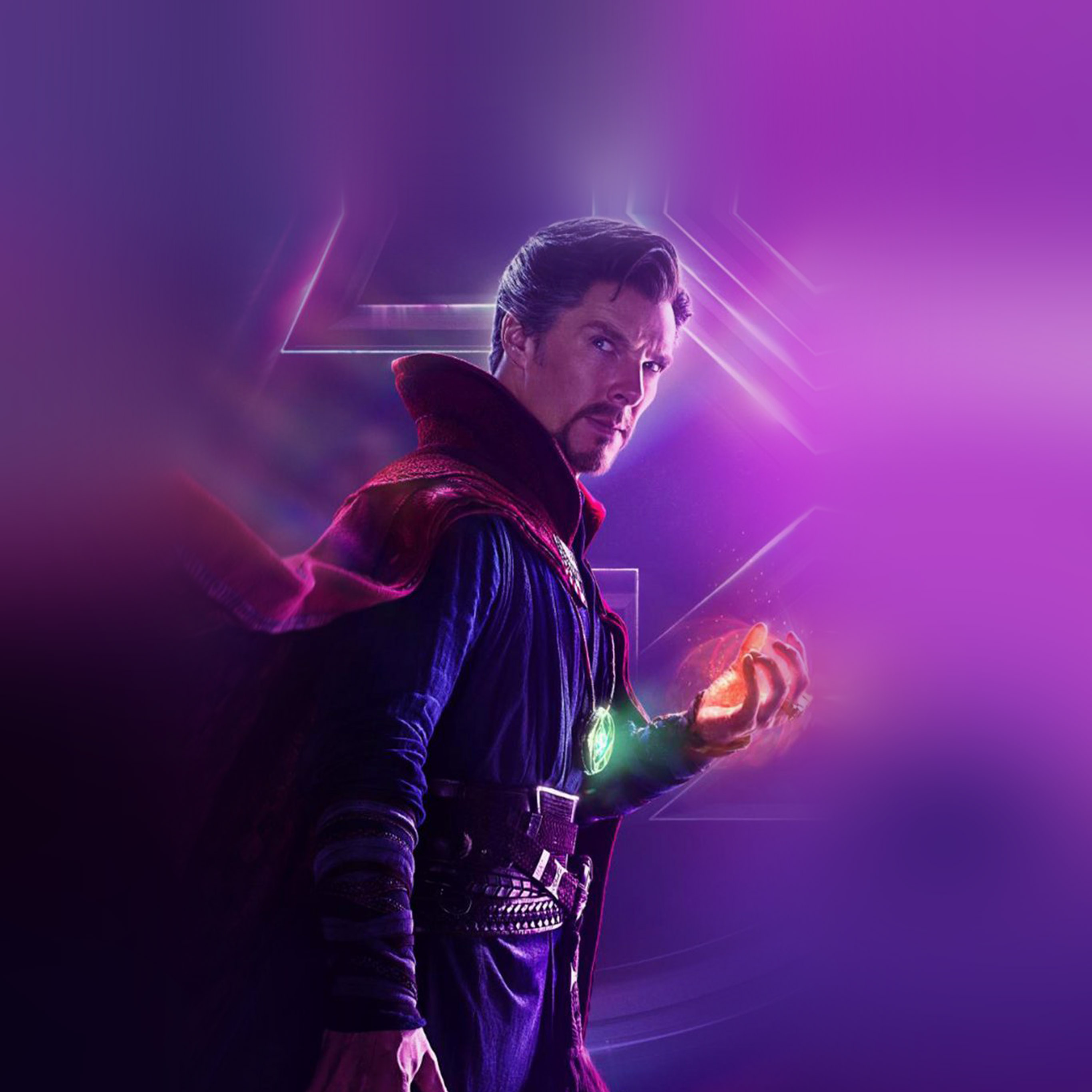 Be93 Avengers Doctor Strange Film Infinitywar Marvel Hero Art Wallpaper