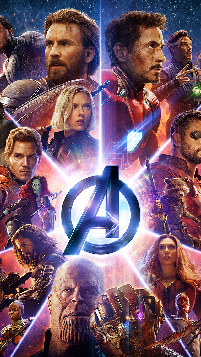 freeios8.com-iphone-4-5-6-plus-ipad-ios8-be95-infinitywar-avengers-film-poster-hero-art-marvel