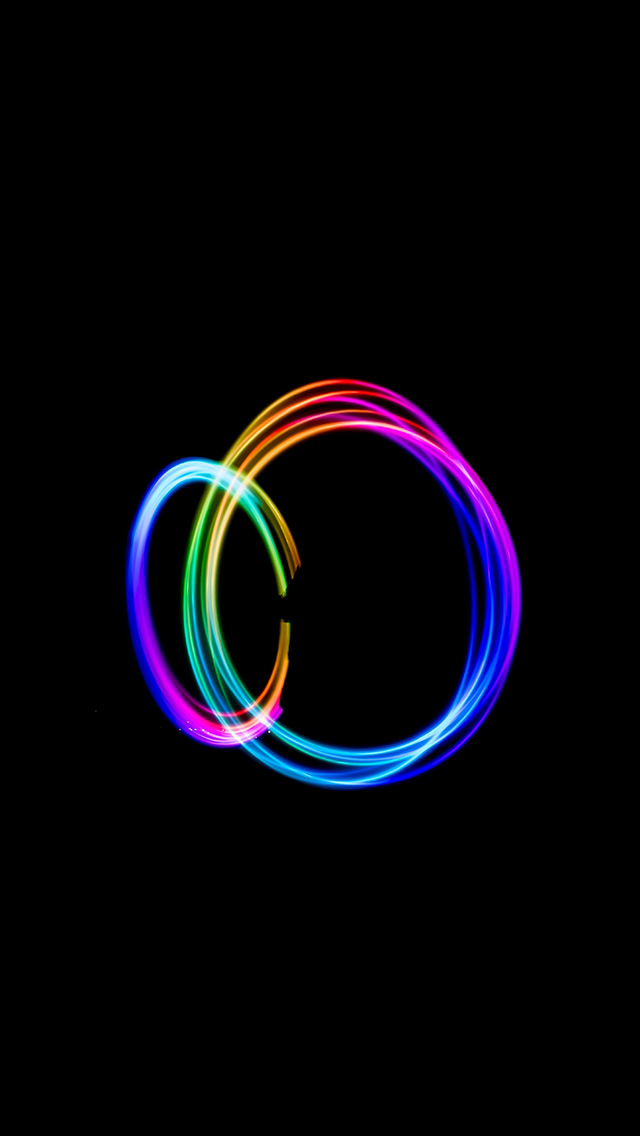 freeios8.com-iphone-4-5-6-plus-ipad-ios8-bf13-dark-circle-rainbow-art