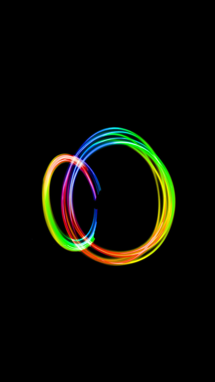 Papers.co-iPhone5-iphone6-plus-wallpaper-bf14-dark-circle-rainbow-art-minimal